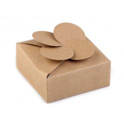 Papierová krabička naturálna malá