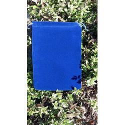 Semiš vrecko modré